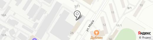 Вариатор-Югра на карте Нефтеюганска