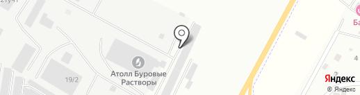 Магазин автозапчастей УАЗ на карте Нефтеюганска