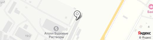 Автосервис на карте Нефтеюганска