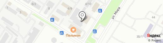 Climat-VIP на карте Нефтеюганска