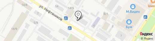 Омский государственный технический университет на карте Нефтеюганска