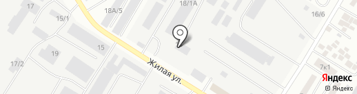 Банкомат, Газпромбанк на карте Нефтеюганска