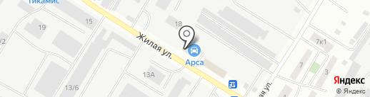 Радио Милицейская волна на карте Нефтеюганска