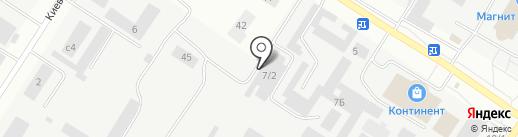 Мейджик Транс Сургут на карте Нефтеюганска