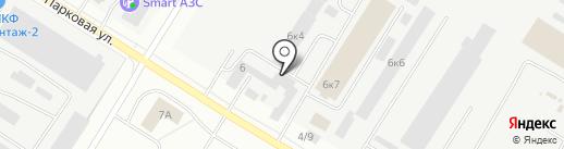 Автомеханик на карте Нефтеюганска
