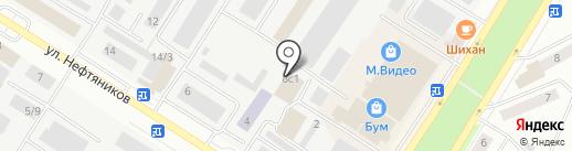 ЭКООКНА на карте Нефтеюганска