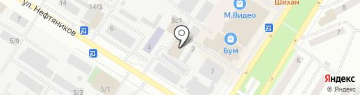Fitness-life на карте Нефтеюганска