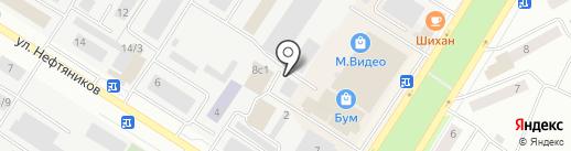 MASTER FIT на карте Нефтеюганска