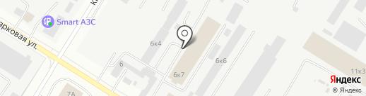 Радуга потолков на карте Нефтеюганска
