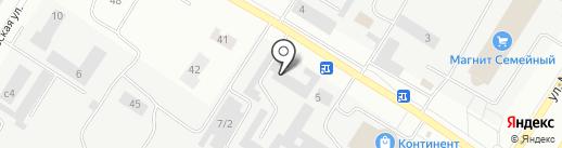 Нефтеюганский учебный профессионально-технический центр ДОСААФ России на карте Нефтеюганска