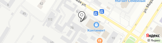 Русский фейерверк на карте Нефтеюганска