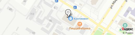 РАЙТ-сити на карте Нефтеюганска
