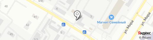 Хлебный дом на карте Нефтеюганска