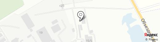 Автомагазин №75 на карте Нефтеюганска