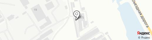 Визит на карте Нефтеюганска