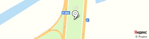 Светлана на карте Нефтеюганска