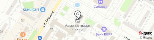 Отдел по профилактике правонарушений и связям с правоохранительными органами на карте Нефтеюганска