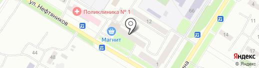 Бережная аптека на карте Нефтеюганска