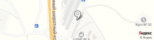 Магазин Автозапчастей на карте Нефтеюганска