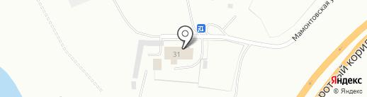 ТЕХСЕРВИС на карте Нефтеюганска