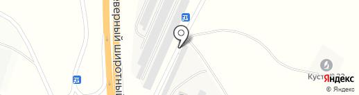 Гидросканд на карте Нефтеюганска