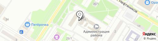 ТНТ Нефтеюганск на карте Нефтеюганска