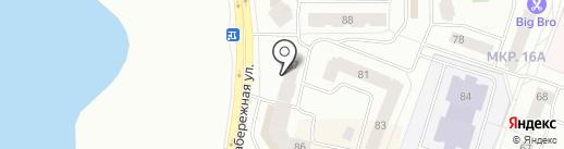 Vizit на карте Нефтеюганска