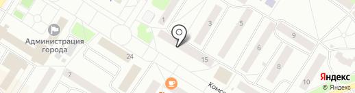 Айболит на карте Нефтеюганска