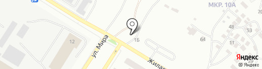 Акрополь на карте Нефтеюганска