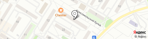 ТотекЮгра на карте Нефтеюганска