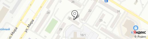 Сим-Сим на карте Нефтеюганска