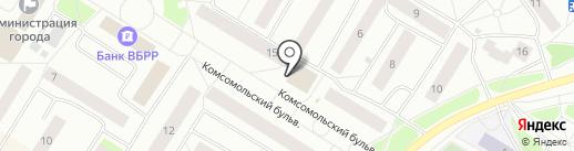 Банкомат, Всероссийский банк развития регионов на карте Нефтеюганска