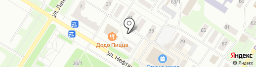 Кабинет психологической помощи на карте Нефтеюганска