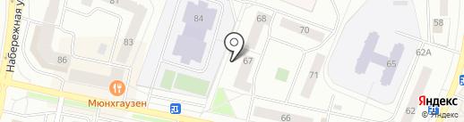 Юганский Медицинский Центр на карте Нефтеюганска