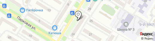 Всероссийский банк развития регионов на карте Нефтеюганска