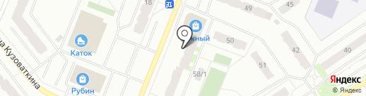 Контракт-Гарант на карте Нефтеюганска