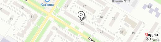 Салон срочного фото на карте Нефтеюганска