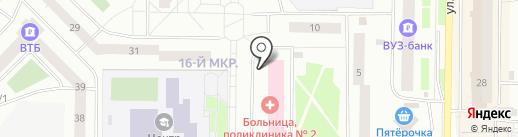 Фармация на карте Нефтеюганска