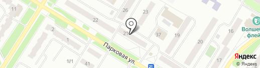 Автогазсервис на карте Нефтеюганска