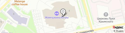 Банкомат, Банк ФК Открытие, ПАО на карте Нефтеюганска