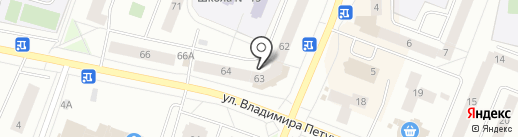 Print Express86 на карте Нефтеюганска