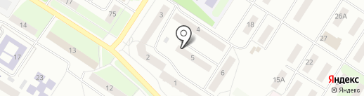 Семь-пять, ТСЖ на карте Нефтеюганска