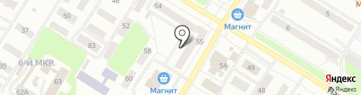 Коллегия адвокатов Ханты-Мансийского автономного округа на карте Нефтеюганска