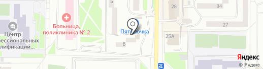 Адвокатский кабинет Александрова В.Г. на карте Нефтеюганска
