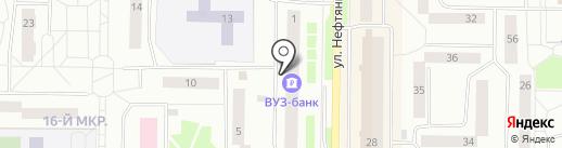 Участковый пункт полиции №8 на карте Нефтеюганска