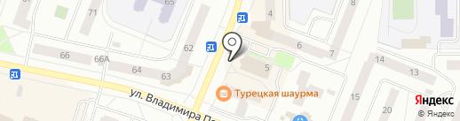 Банкомат, Банк ВТБ 24, ПАО на карте Нефтеюганска