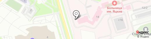 Нефтеюганская окружная клиническая больница им. В.И. Яцкив на карте Нефтеюганска