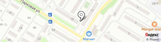 Эдванс на карте Нефтеюганска