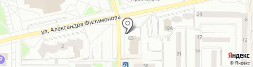 Kinder Shop на карте Нефтеюганска