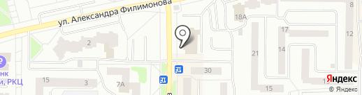 Наш дом 8а-32, ТСЖ на карте Нефтеюганска